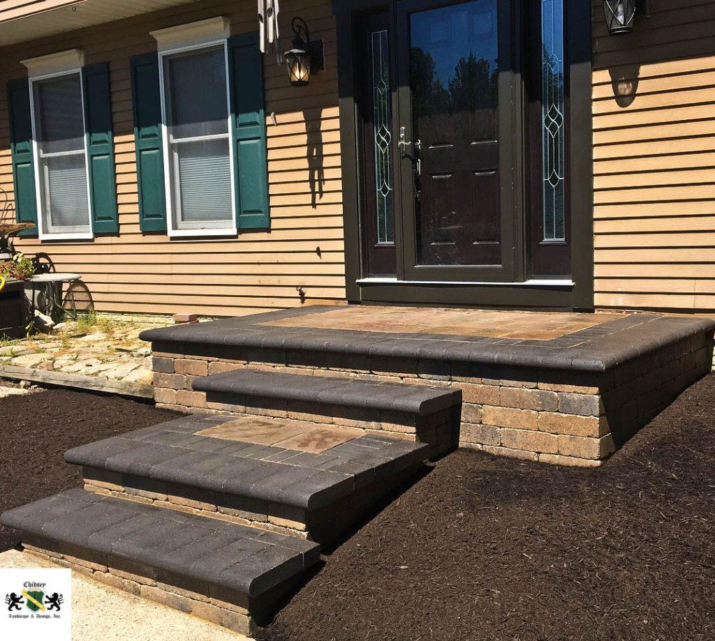 paver step installation