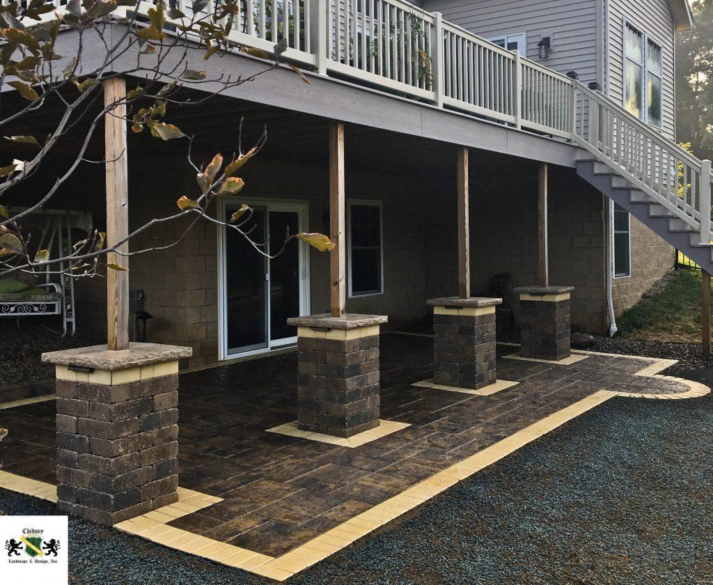 paver patio installation