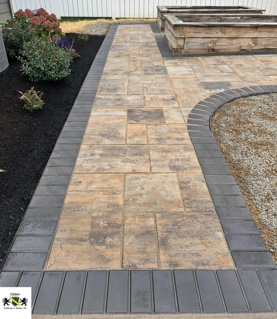 paver walkway installation